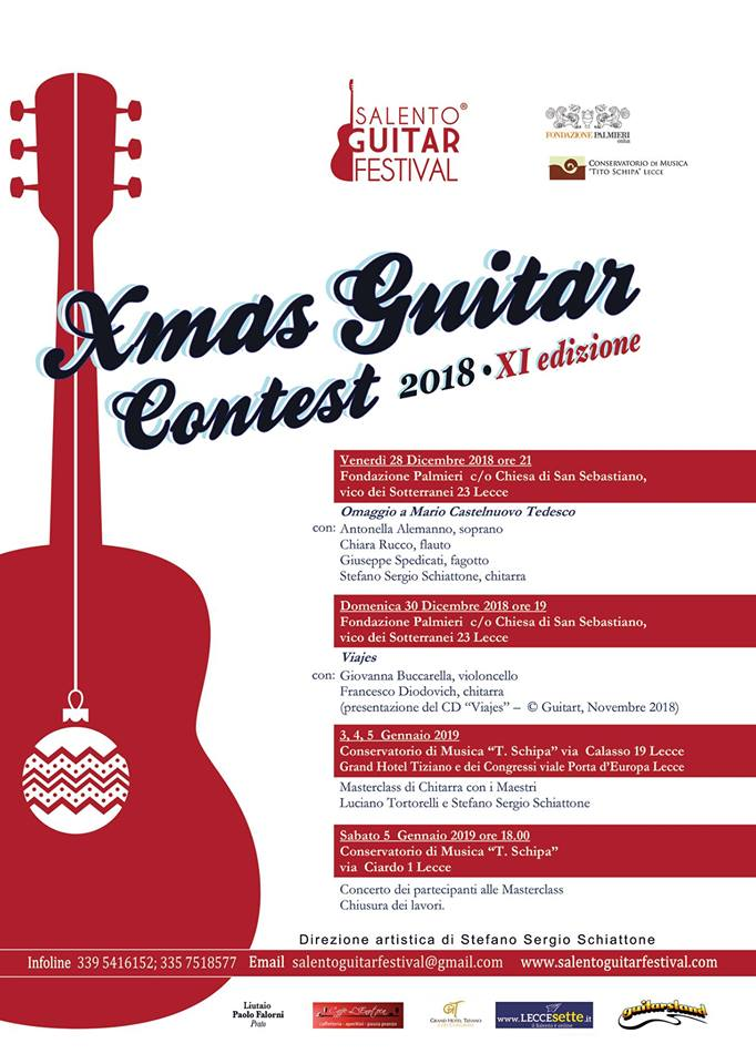 Salento Xmas Guitar Contest