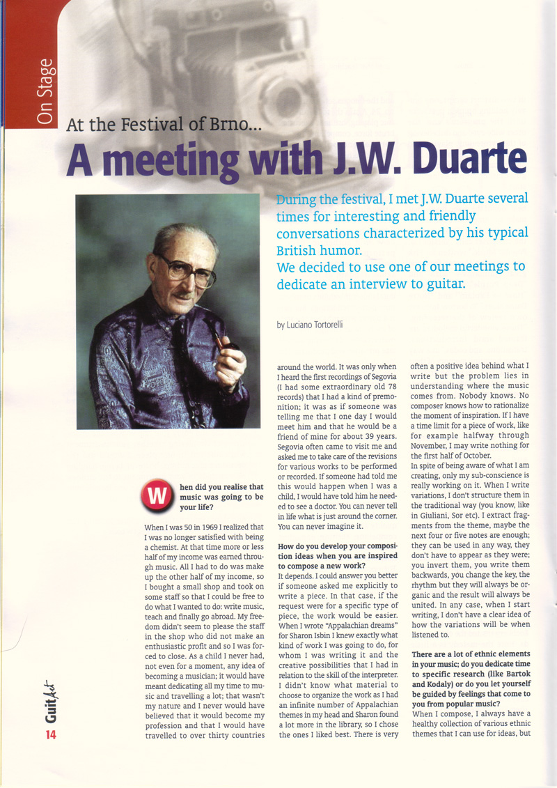 A Meeting with J.W.Duarte pag.1