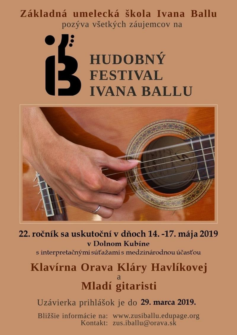 Ivan Ballo Guitar Competition